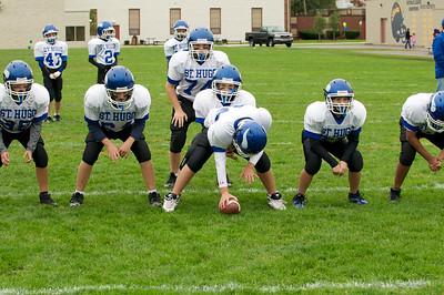 6th Grade Football vs Shrine   2010-10-02  10