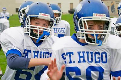 6th Grade Football vs Shrine   2010-10-02  8