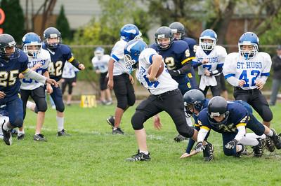 6th Grade Football vs Shrine   2010-10-02  24