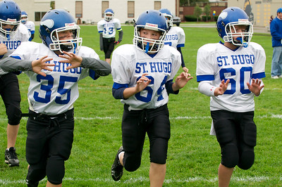 6th Grade Football vs Shrine   2010-10-02  11