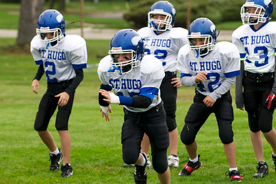 6th Grade Football vs Shrine   2010-10-02  1