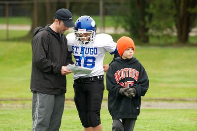 6th Grade Football vs Shrine   2010-10-02  5