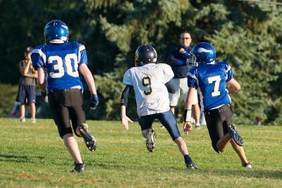 Varsity Football  2010-10-08  10