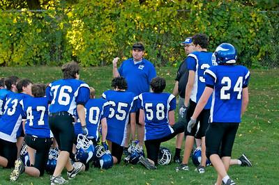 Varsity Football  2010-10-08  11