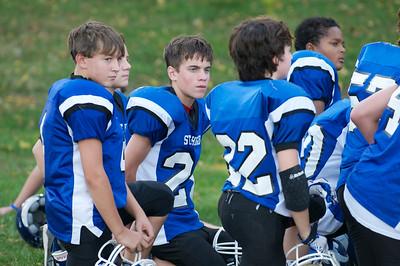 Varsity Football  2010-10-08  18