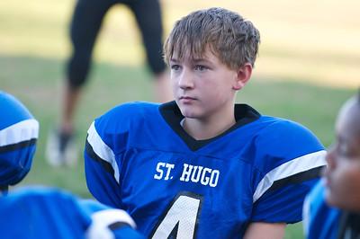 Varsity Football  2010-10-08  45