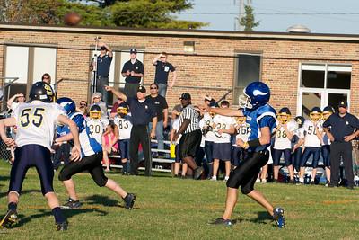 Varsity Football  2010-10-08  1