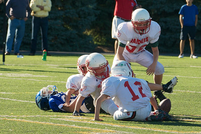 5th Grade vs Regis 9-9-12