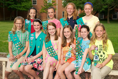 Girl Scout Award Ceremony 2011-06-11  47