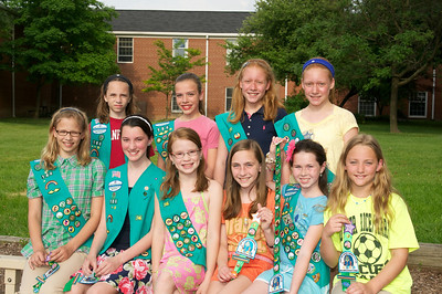 Girl Scout Award Ceremony 2011-06-11  46