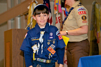 Cub Scout Blue & Gold  2010-02-2365