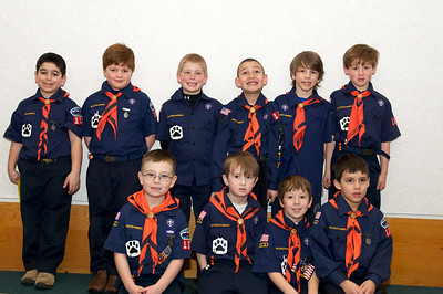 Cub Scout Blue & Gold  2010-02-237