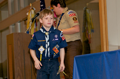 Cub Scout Blue & Gold  2010-02-2362