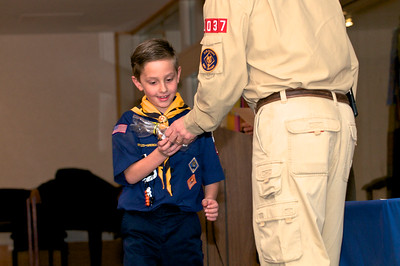 Cub Scout Blue & Gold  2010-02-2345