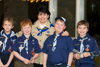 Cub Scout Blue & Gold  2010-02-2375