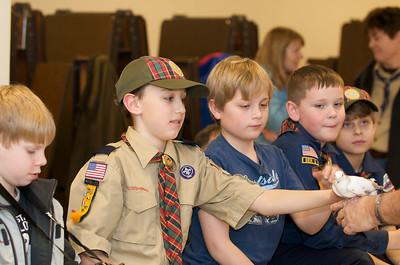 Cub Scouts Live Animals  2010-01-21  50
