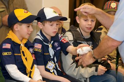 Cub Scouts Live Animals  2010-01-21  51