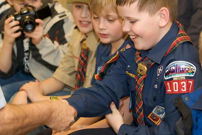 Cub Scouts Live Animals  2010-01-21  33