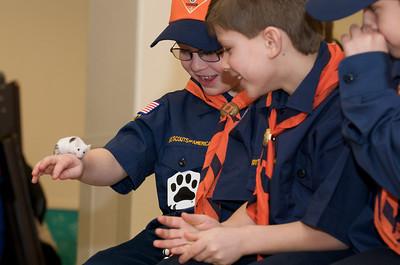 Cub Scouts Live Animals  2010-01-21  90