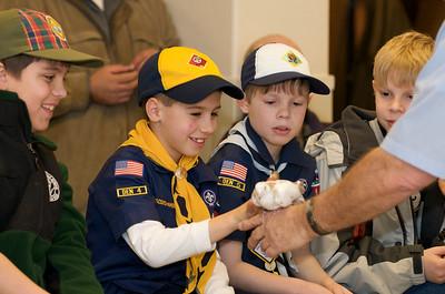 Cub Scouts Live Animals  2010-01-21  52