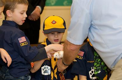 Cub Scouts Live Animals  2010-01-21  55