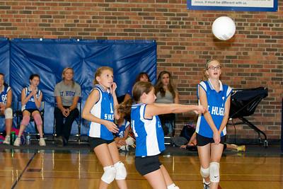 Hugo 5th Grade Volleyball  2010-10-02  64