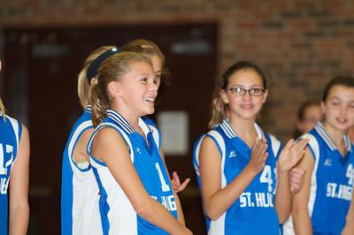 Hugo 5th Grade Volleyball  2010-10-02  96