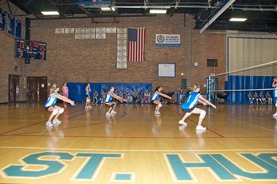 Hugo 5th Grade Volleyball  2010-10-02  28