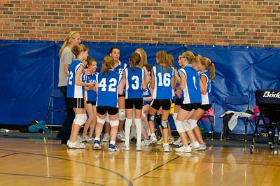 Hugo 5th Grade Volleyball  2010-10-02  105