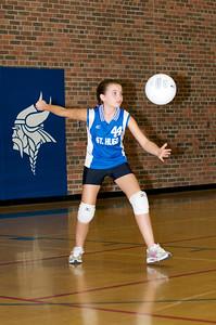 Hugo 5th Grade Volleyball  2010-10-02  83