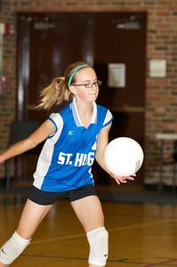 Hugo 5th Grade Volleyball  2010-10-02  56