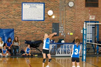 Hugo 5th Grade Volleyball  2010-10-02  68