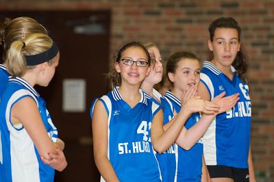 Hugo 5th Grade Volleyball  2010-10-02  93