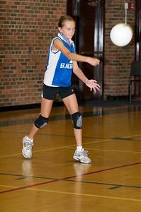 Hugo 5th Grade Volleyball  2010-10-02  60
