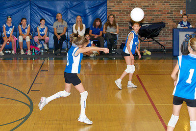 Hugo 5th Grade Volleyball  2010-10-02  80