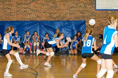 Hugo 5th Grade Volleyball  2010-10-02  58