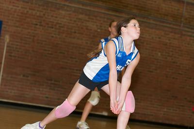 Hugo 5th Grade Volleyball  2010-10-02  38