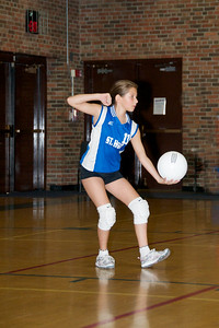 Hugo 5th Grade Volleyball  2010-10-02  22