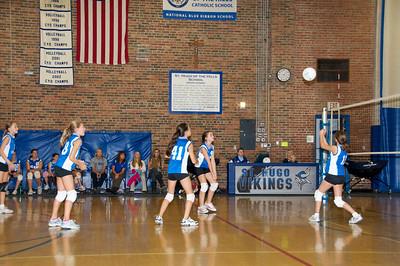 Hugo 5th Grade Volleyball  2010-10-02  26