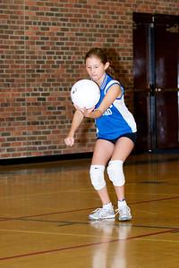 Hugo 5th Grade Volleyball  2010-10-02  89