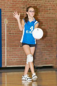 Hugo 5th Grade Volleyball  2010-10-02  55