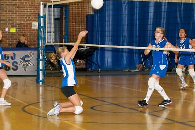 Hugo 5th Grade Volleyball  2010-10-02  57