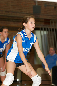 Hugo 5th Grade Volleyball  2010-10-02  31