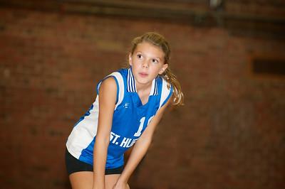 Hugo 5th Grade Volleyball  2010-10-02  29