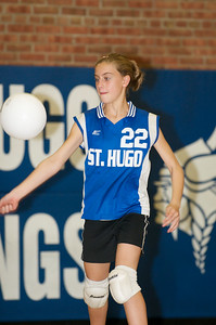 Hugo 5th Grade Volleyball  2010-10-02  47