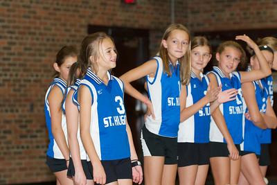 Hugo 5th Grade Volleyball  2010-10-02  99