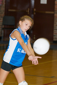 Hugo 5th Grade Volleyball  2010-10-02  71