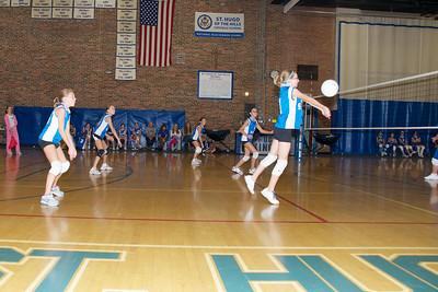 Hugo 5th Grade Volleyball  2010-10-02  27