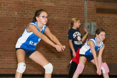 Hugo 5th Grade Volleyball  2010-10-02  51