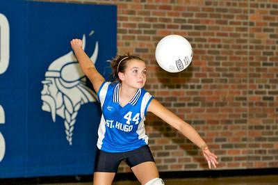 Hugo 5th Grade Volleyball 2010-09-18  87